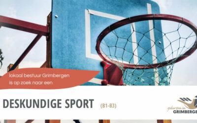 Zin om het sportief beleid van Grimbergen mee uit te stippelen?